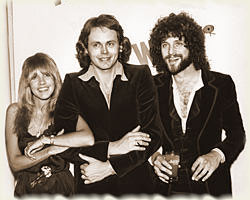 Stevie Nicks, Walter Egan and Lindsey Buckingham